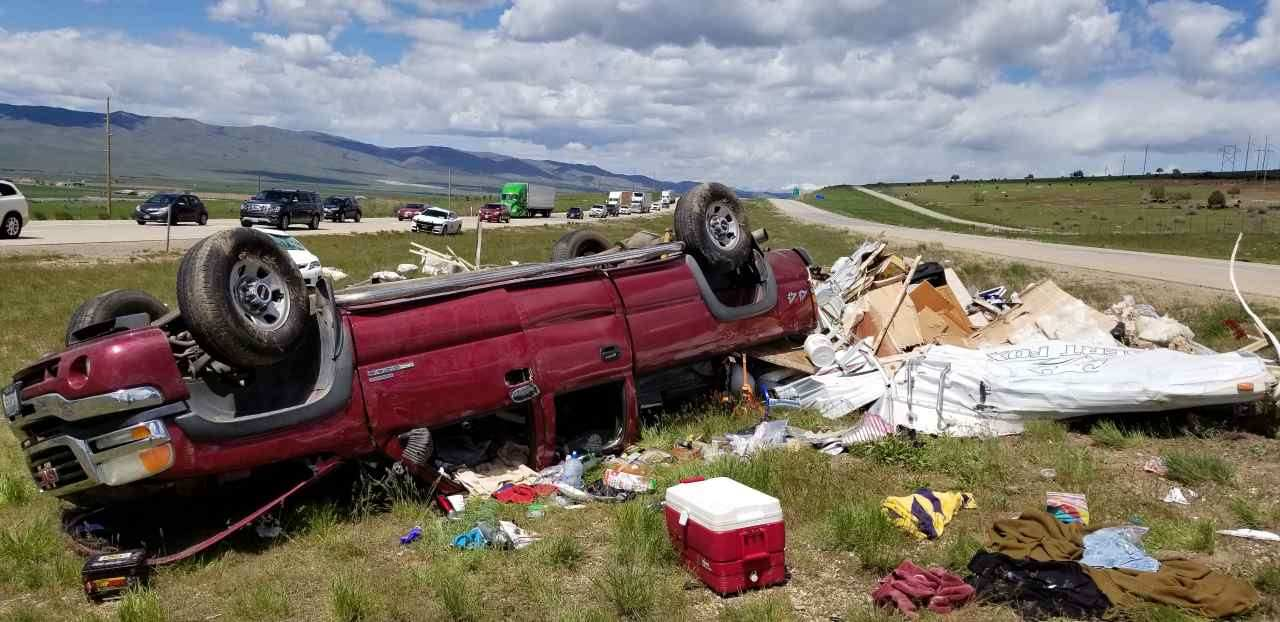 Driver dead after crash on I-15 near Nephi