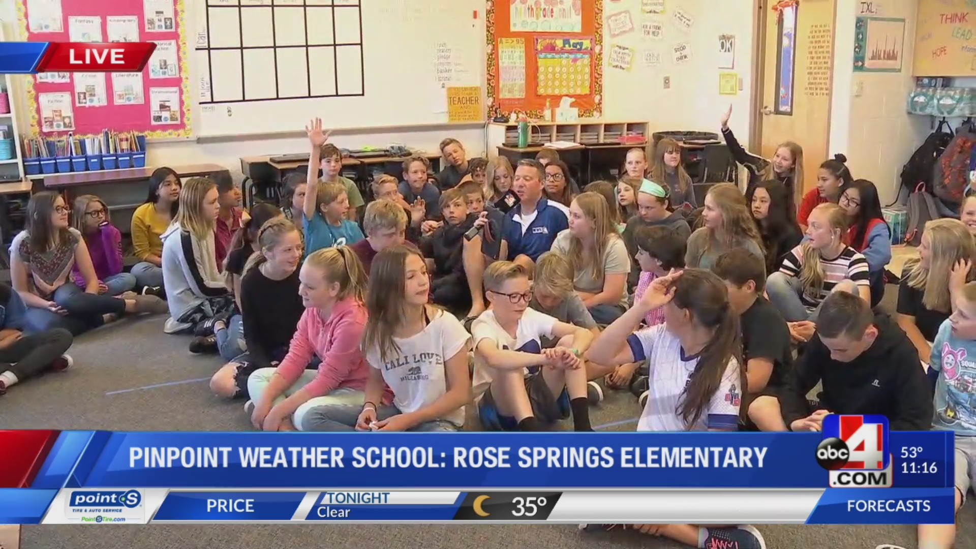 Rose Springs Elementary Weather School