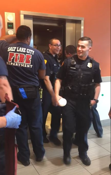 Local police in a pinch make 911 call- 'This is not a drill