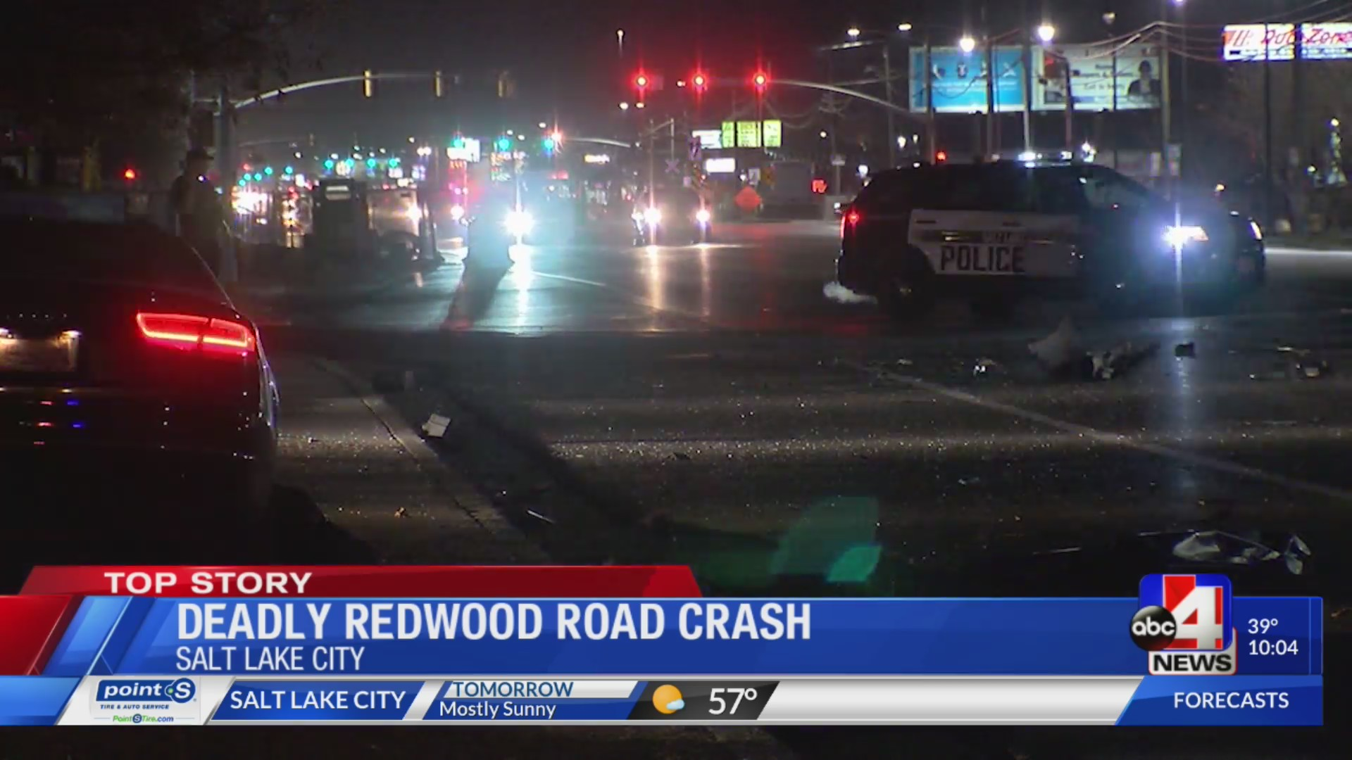 Deadly crash on redwood road shuts down road overnight saturday