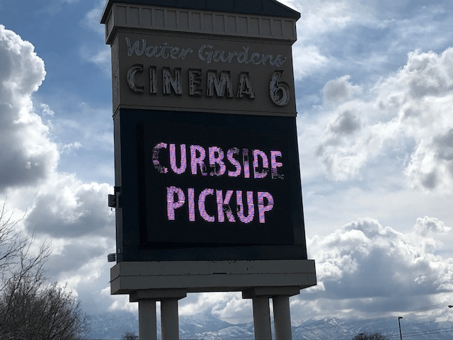 Community Over Crisis Utah County Movie Theater Transforms Into Drive In To Offer Relief From Quarantine