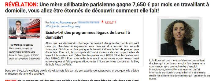 Deuxième exemple d'une mére célibataire vraiment chanceuse. 7650 euros par mois. Moi aussi je veux savoir comment ;-)