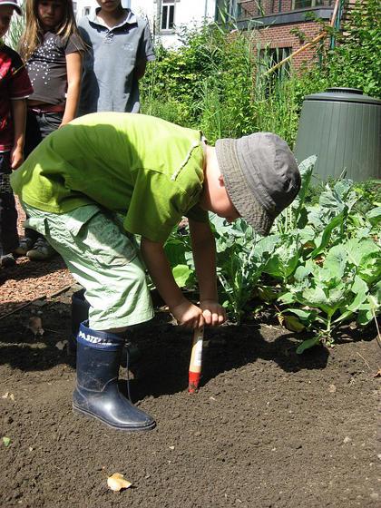 argent de poche en jardinant