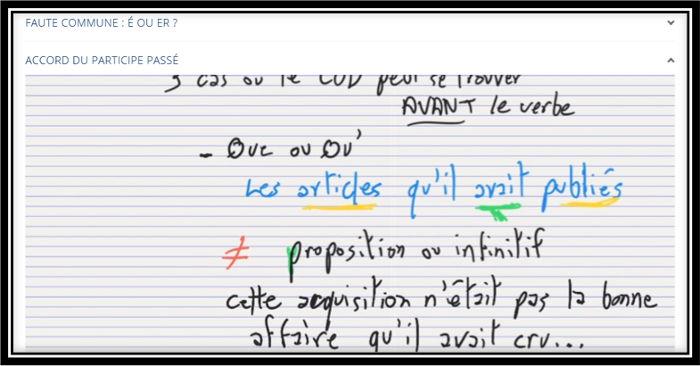 rédacteur web formation français