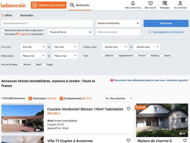 investissement immobilier petites annonces