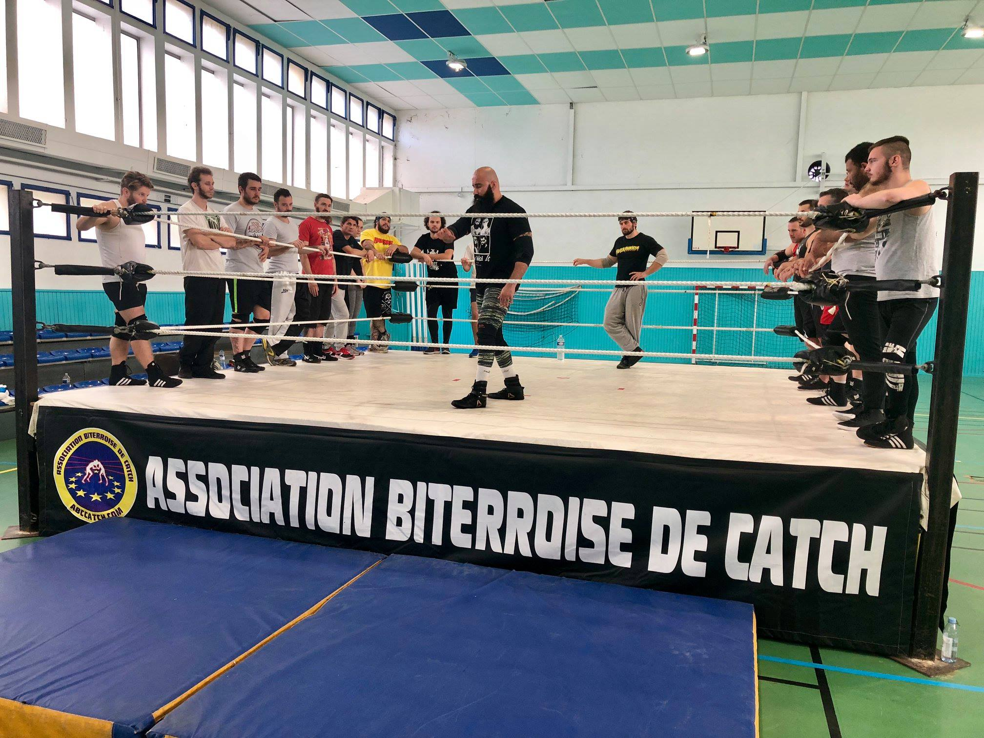 association biterroise de catch stage catch Béziers tom la ruffa