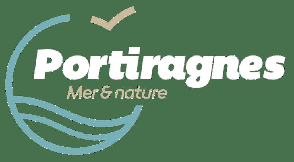 logo ville Portiragnes blanc