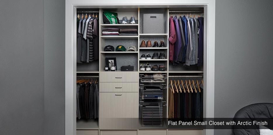 Small Closet Design Amp Storage Reach In Closet Solutions