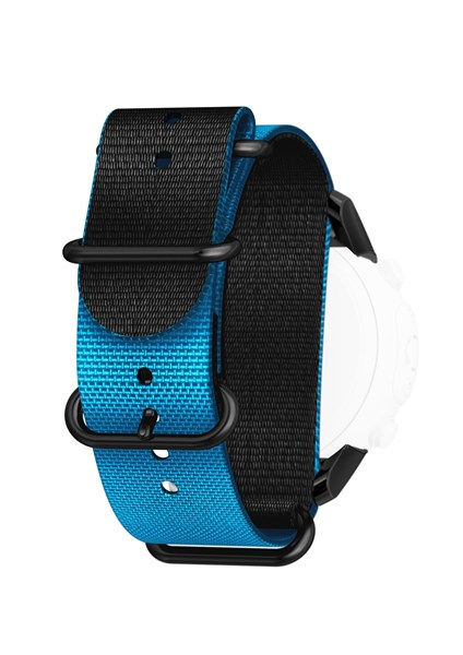 Suunto Strap Kit D6i Novo Blue Zulu with Adaptor