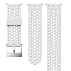 Suunto D5 Strap 24mm Athletic 1 Silicone Strap Kit D5 White/Steel S+M