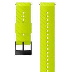 Suunto D5 Strap 24mm Athletic 3 Silicone Strap Kit D5 Lime/Blackl M