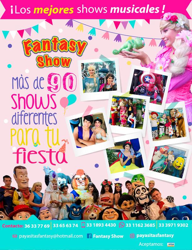 anuncio fantasy show edic. 28