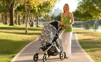 O passeio do bebé