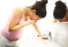Vómitos durante a gravidez