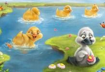 A fábula: O pato e a pata