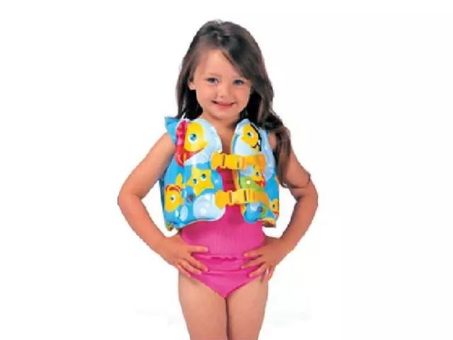 Colete salva-vidas para criança
