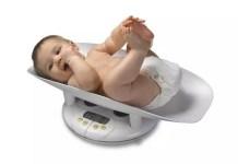 Saiba qual deverá ser o peso ideal do seu bebé
