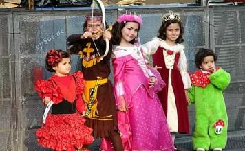 A criança e o carnaval