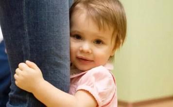 O medo da separação da mãe