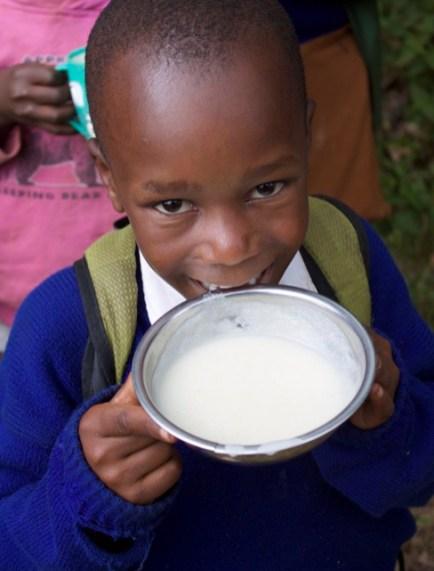 Our breakfast program helps kids learn