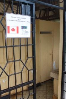 entrance to boys toilet at Kitowo/Napaku PS