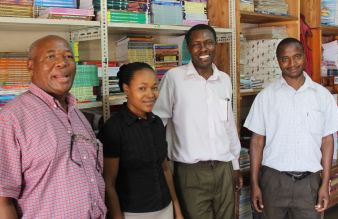 Staff at Totoo Books