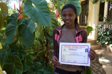 Jackline completed secondary school. Completed Certificate in Tourism and Guiding and will aim at the Diploma next.