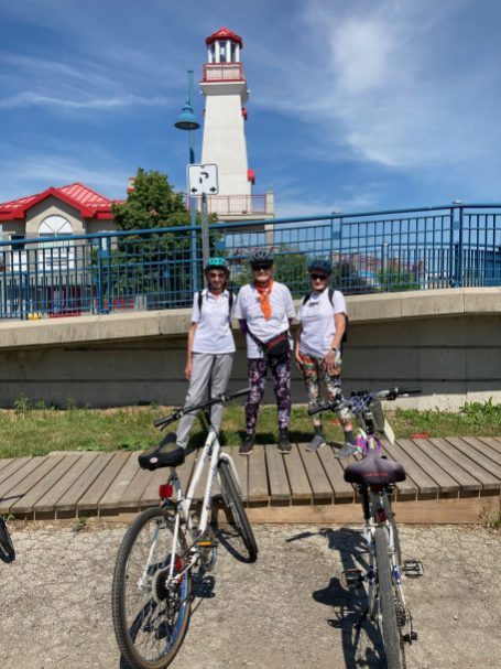 AGroup at Port Credit Lighthouse