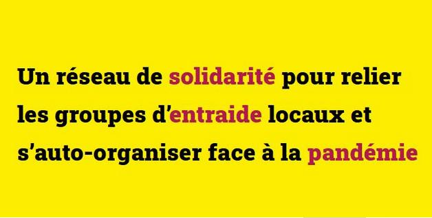 Solidarité entraide COVID