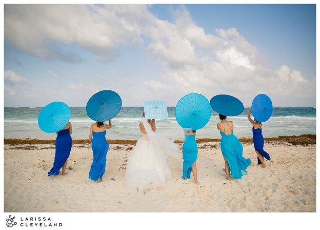 ombre parasals