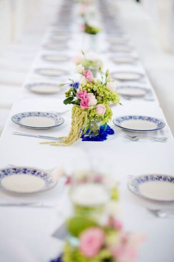 table decor and setting