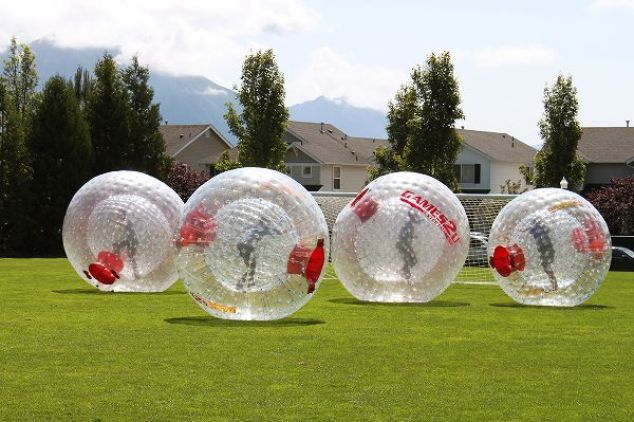 6 Creative Adult Party Activities - hamster-balls