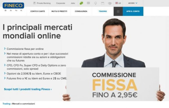 Costi e commissioni Fineco