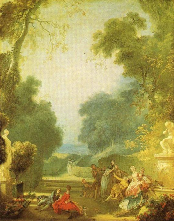 Bathers Jean Fragonard Honore