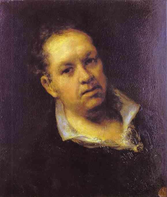 Self-portrait by Goya