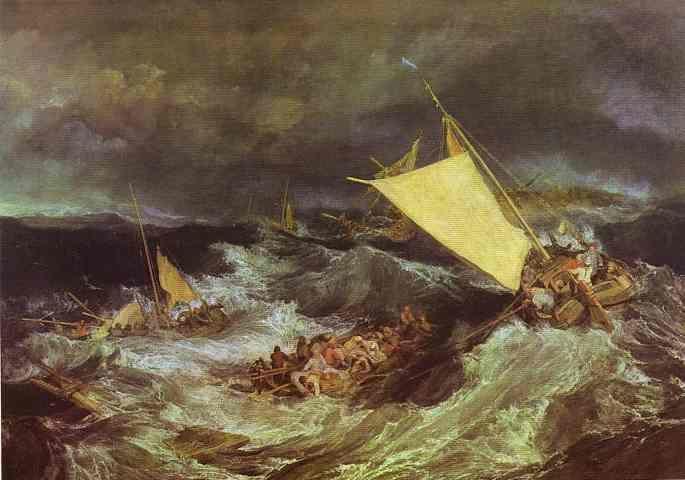 William Turner. The Shipwreck.