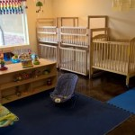 Infants are safe in our special infant room.
