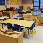 We have specialized amenities for kindergartners.