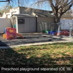 Pre-k students will love our playground.