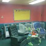Your little ones still need care when you're away. ABC Great Beginnings has a room for infants as well as toddlers.