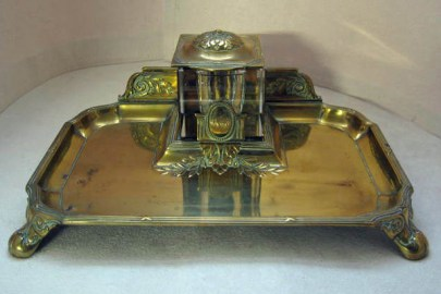 Brass Desk Stand