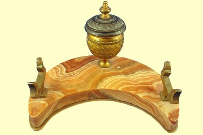 French-Inkstand-with-Pen-Rest