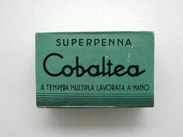 An unopened box of Cobaltea  Italian pen nibs. Price £18-00.