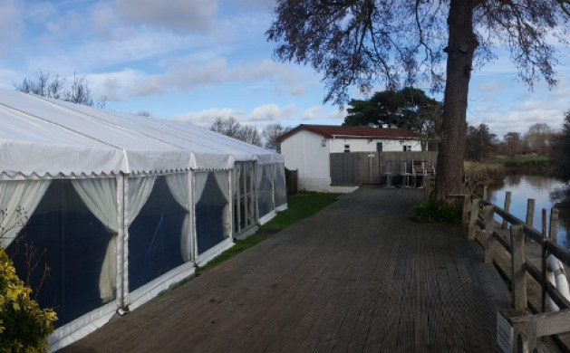 Riverside Marquee at The Anchor