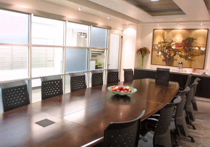 This Monterrey San Pedro Office Has Nice Board Rooms And