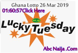 Ghana Lucky g Lotto Forecast