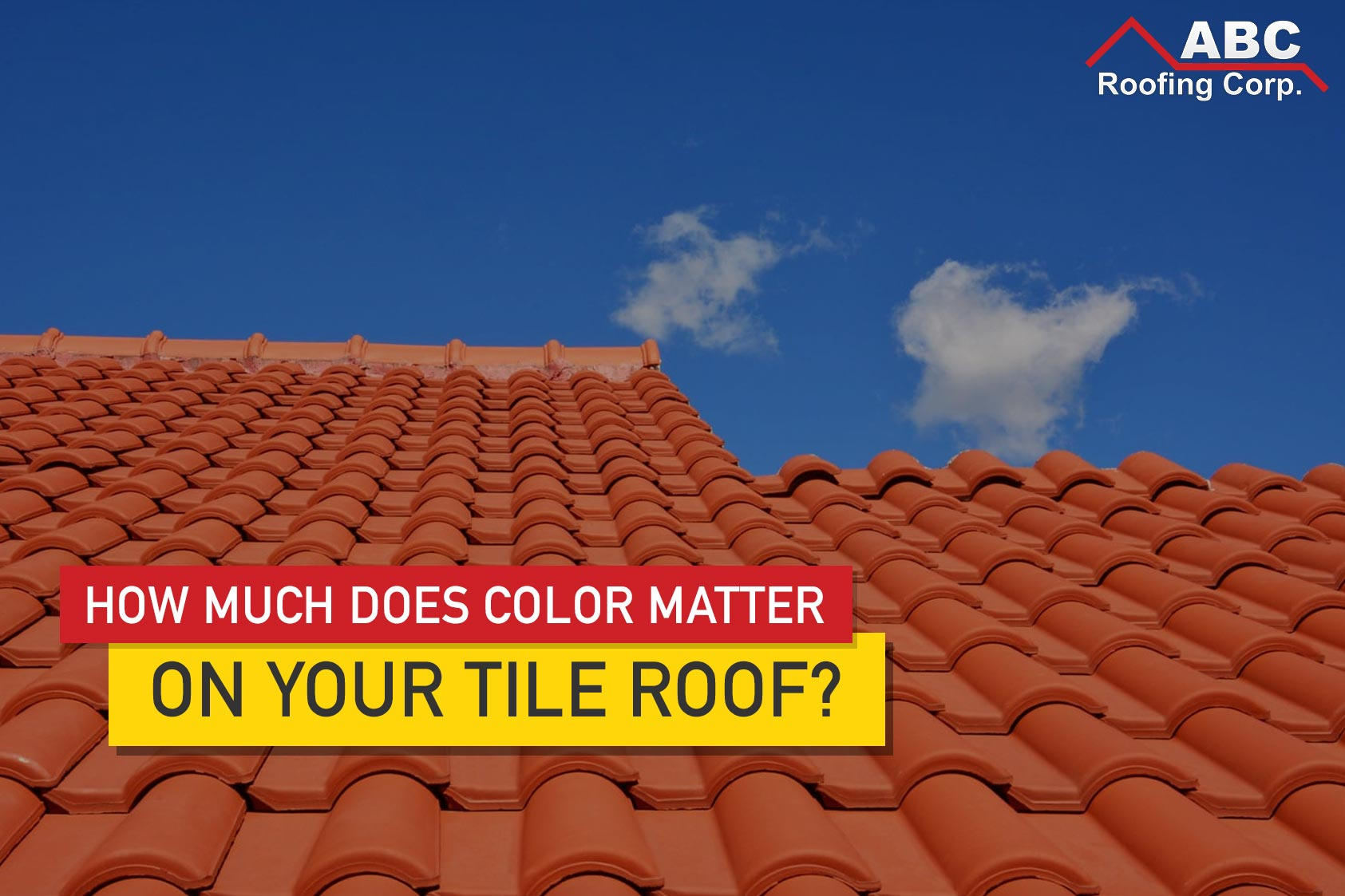 choosing the color of your tile roof to