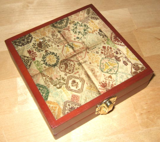 Sarah Moon Ackworth Wooden Box