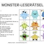 Monster Leseratsel