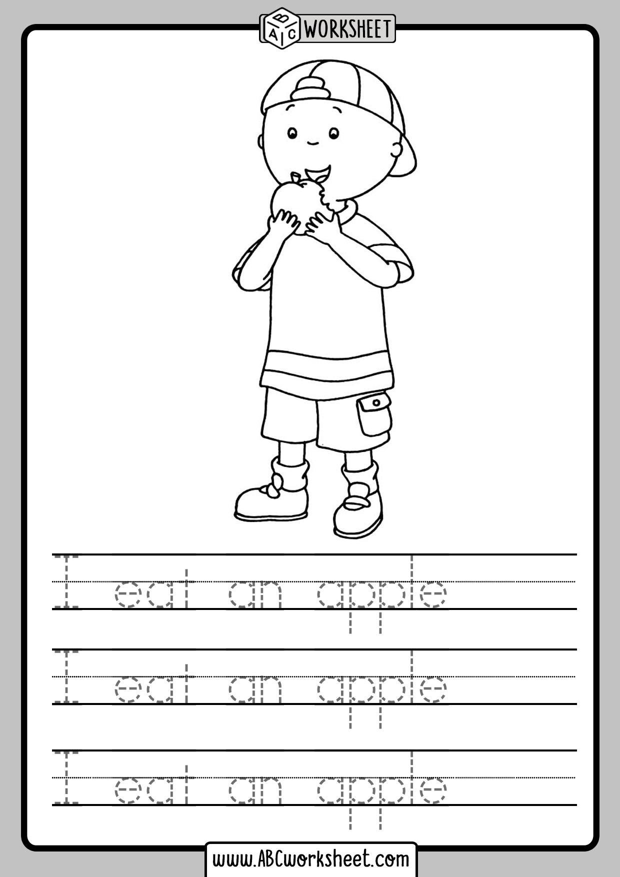 Handwriting Worksheets For Kids
